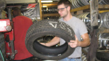 Tire Patching Replacement Used New Mounting Balancing Hub Cap World